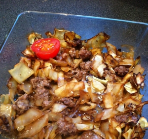 Köttfärsochvitkålsgrtäng