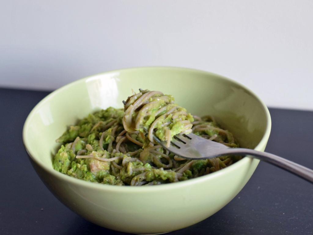 Grön tonfiskpasta1