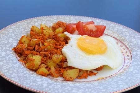 Indisk stekt potatis